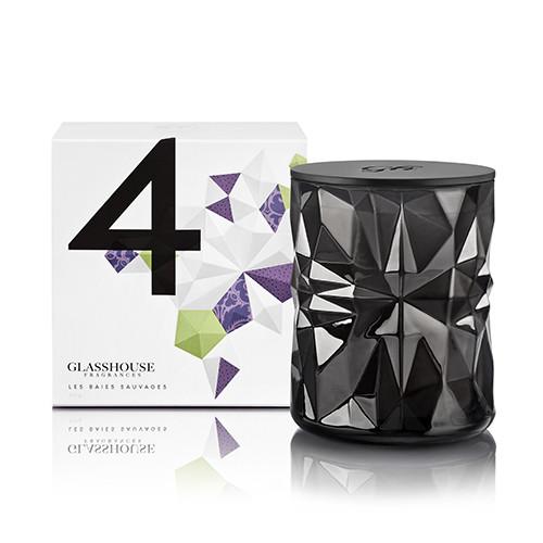 La Maison Glasshouse Candle - No.4 Les Baies Sauvages  by Glasshouse Fragrances