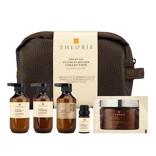 Theorie Argan Oil Ultimate Reform Hair and Body Travel Pack by Theorie