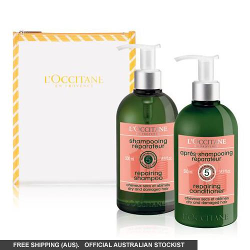L'Occitane Aromachologie Repairing Duo for Dry & Damaged Hair by loccitane