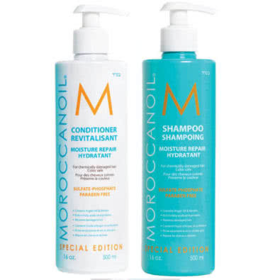 MOROCCANOIL Moisture Repair Shampoo & Conditioner Duo - Special Edition