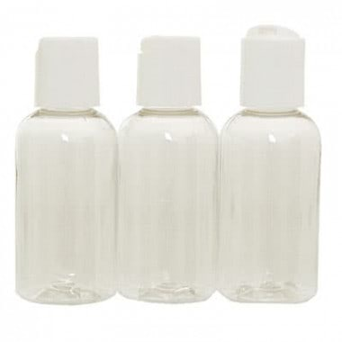 Travel Push-Top Bottle 59ml - Set of 3