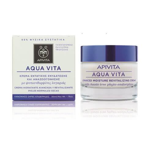 APIVITA Aqua Vita Advanced Moisture Cream for Normal/Dry Skin  by APIVITA