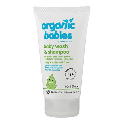 Organic Babies Baby Wash & Shampoo - Scent Free by Green People