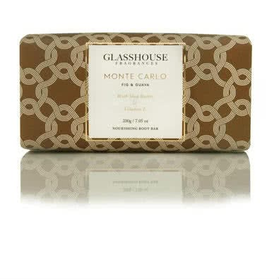Glasshouse Monte Carlo Nourishing Body Bar - Fig & Guava  by Glasshouse Fragrances
