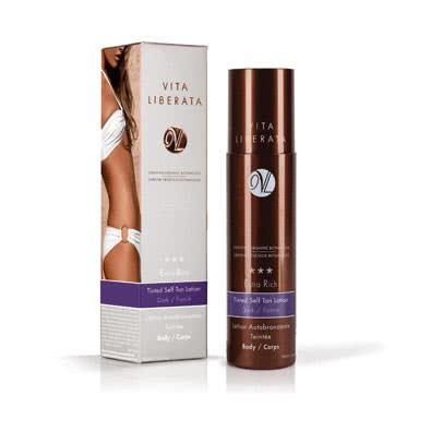 Vita Liberata Extra Rich Silken Chocolate Tinted Self Tan Gel – Dark