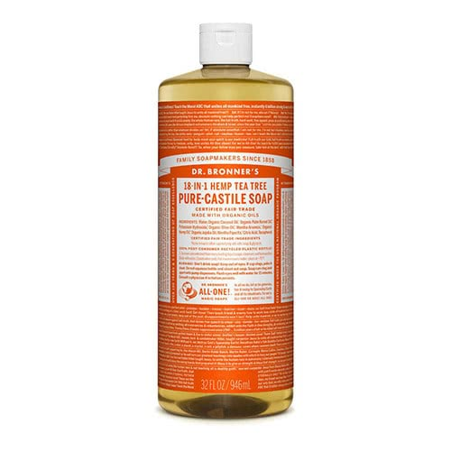 Dr. Bronner Castile Liquid Soap - Tea Tree 946ml by Dr. Bronner's