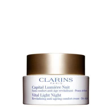 Clarins Vital Light Night Comfort Cream (Dry Skin)