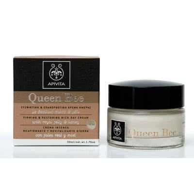 APIVITA Queen Bee Firming & Restoring Rich Day Cream SPF15 by APIVITA