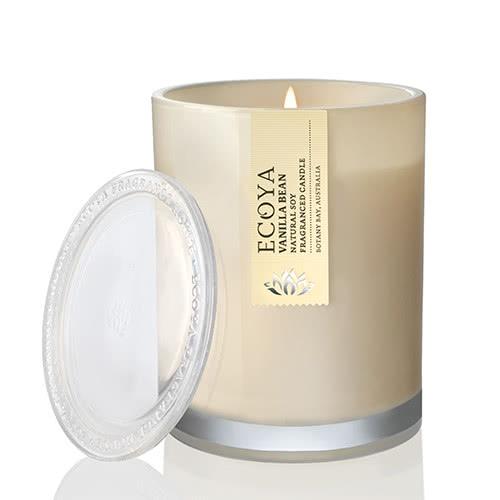 Ecoya Metro Jar Fragranced Candle - Vanilla Bean