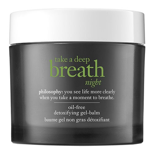 philosophy take a deep breath night detoxifying gel balm by philosophy