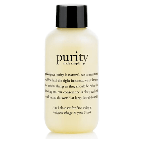 philosophy purity made simple 3-in-1 cleanser for face and eyes 90ml - 90ml by philosophy