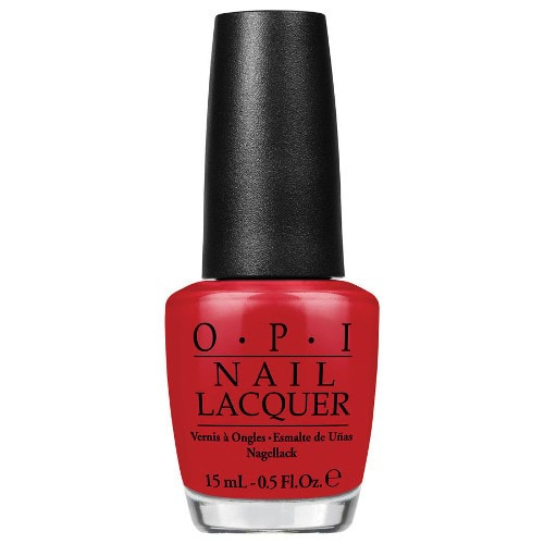 OPI Nail Polish Brazil Collection Red Hot Rio 15ml by OPI color Red Hot Rio