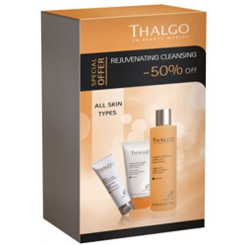 Thalgo Rejuvenating Cleansing Trio - All Skin Types - Save 50%! by Thalgo