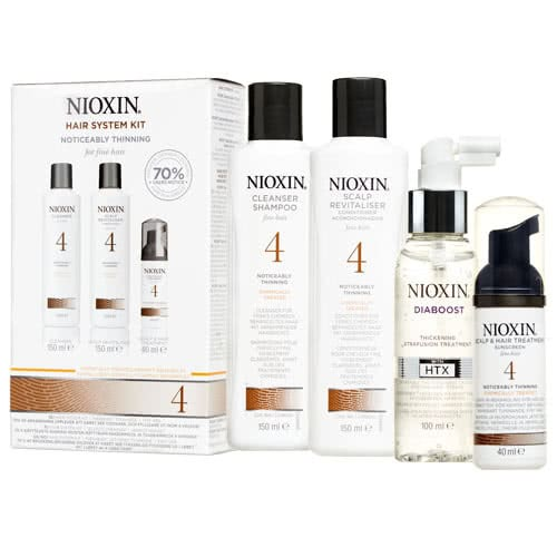 Nioxin System 4 Diaboost & Trial Pack by Nioxin