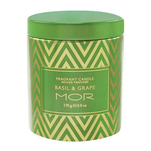 MOR Basil & Grape Fragrance Candle