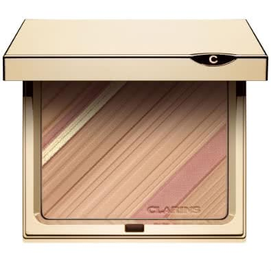 Clarins Graphic Expression: Face & Blush Powder. Limited Edition