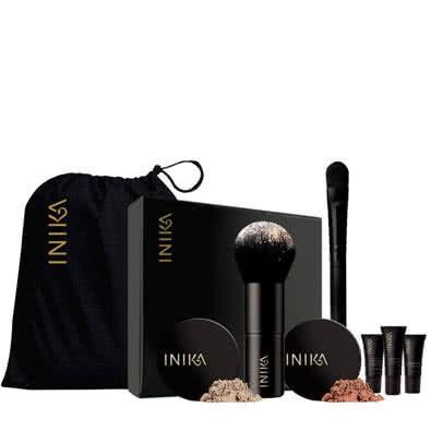 Inika Face in a Box-06 Trust - golden pink, for medium - dark skin