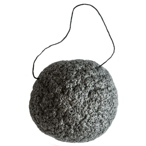 Mukti Organics Activated Charcoal Konjac Sponge by Mukti Organics