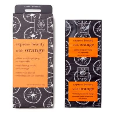APIVITA Express Beauty with Orange Revitalising Mask