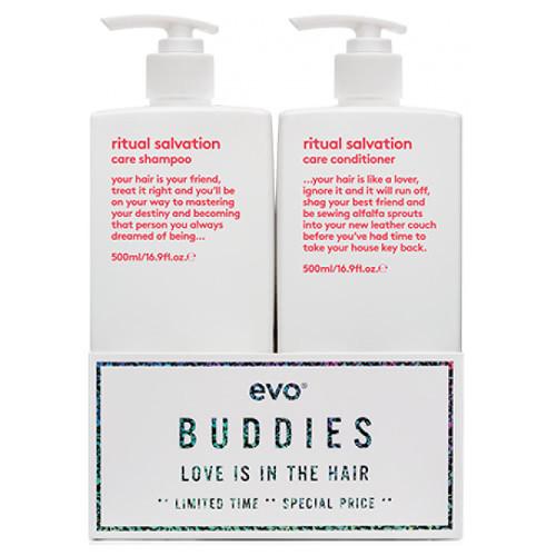 evo BUDDIES ritual salvation 500ml duo by evo