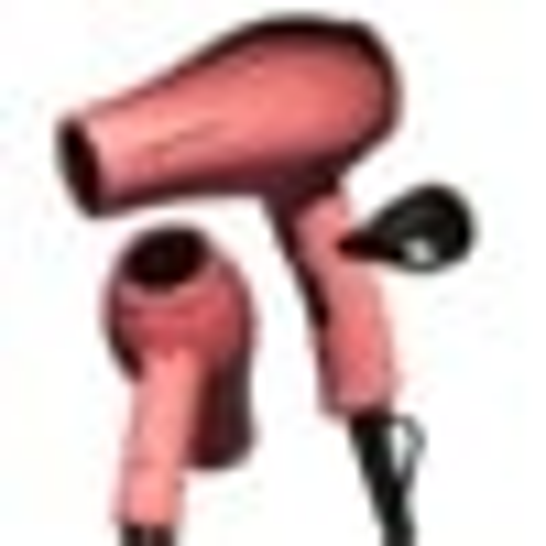O&M Jet Setter Pink Mini Travel Hair Dryer