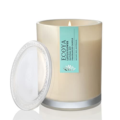 Ecoya Metro Jar Fragranced Candle - Lotus Flower