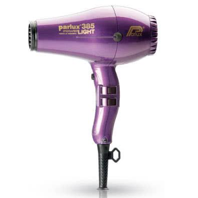 Parlux Power Light 385 Ionic & Ceramic Hairdryer - Violet