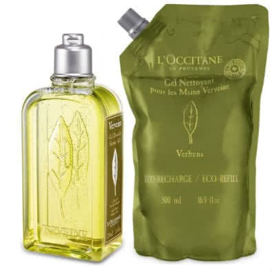 "L'Occitane Verbena ""Verveine"" Shower Gel with Eco-Refill Value Pack by L'Occitane"