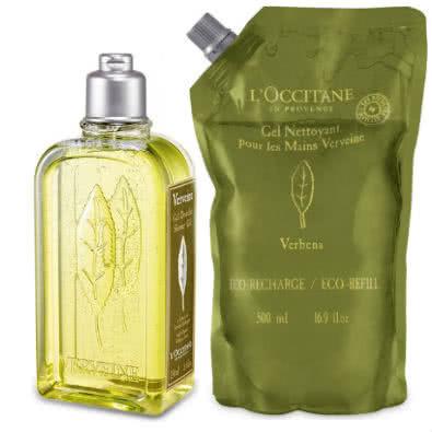 "L'Occitane Verbena ""Verveine"" Shower Gel with Eco-Refill Value Pack by L Occitane"
