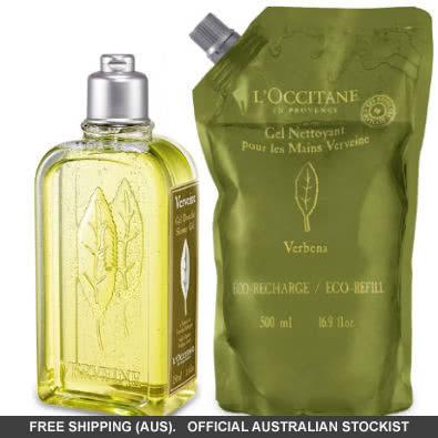 "L'Occitane Verbena ""Verveine"" Shower Gel with Eco-Refill Value Pack by loccitane"