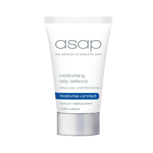 asap moisturising daily defense spf30 - 50ml