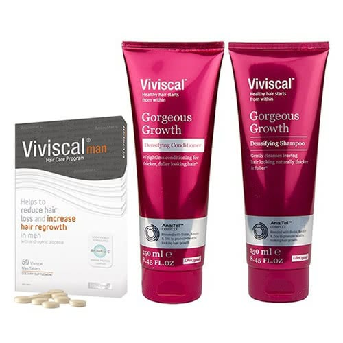 Viviscal Man - 1 Month Starter Kit Value Pack by Viviscal