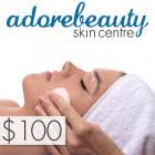 Adore Beauty Skin Centre $100 Gift Voucher
