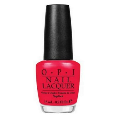 OPI Nail Polish - Dutch Collection-Red Lights Ahead... Where?