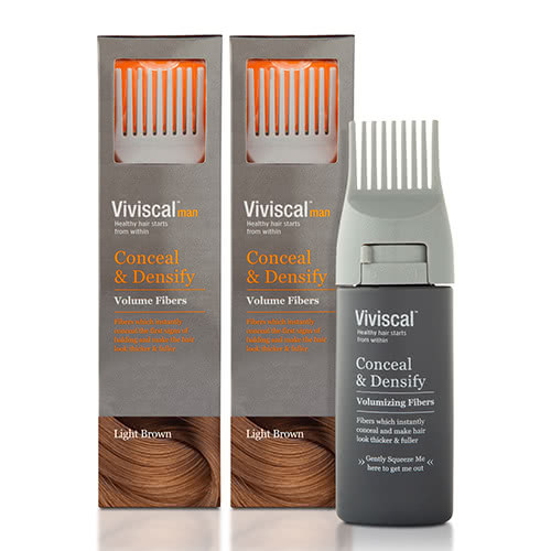 Viviscal Male Conceal & Densify Fibres - 2 Month Supply Value Pack by Viviscal