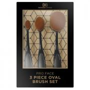 Designer Brands Pro Face Oval Brush Set