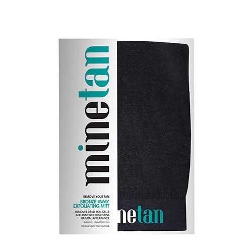 mine tan - bronze away exfoliator mitt by mine tan