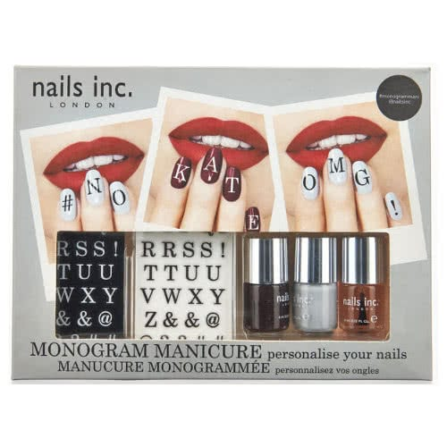 Nails Inc Monogram Manicure Box Set by nails inc.