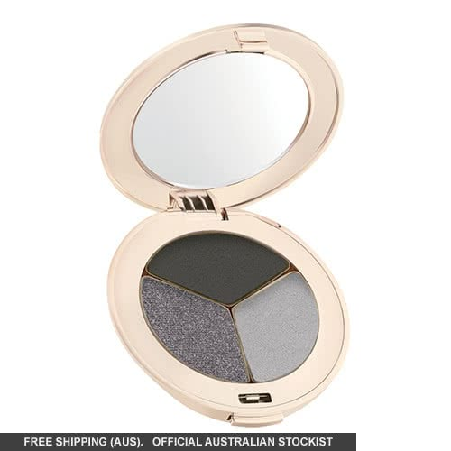 Jane Iredale PurePressed Eye Shadows: Triple - Silver Lining by jane iredale color Silver Lining