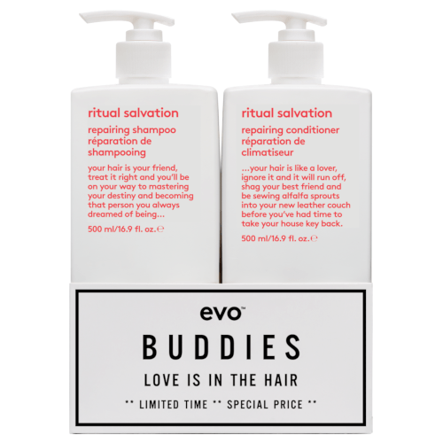 evo Love Is In The Hair Buddies Duo 500ml by evo