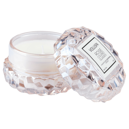 Voluspa Macaron Rose Coloured Glasses Candle