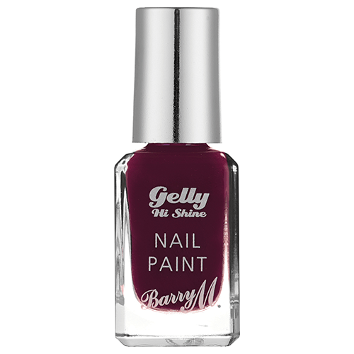 Barry M Gelly Nail Paint Black Cherry