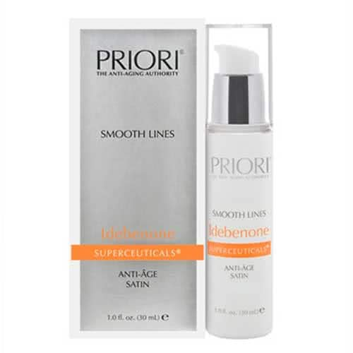 PRIORI Smooth Lines with Idebenone by PRIORI