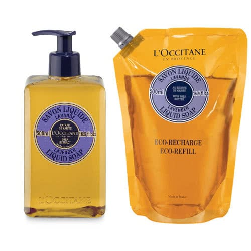 L'occitane Lavender Liquid Soap Eco Duo by L Occitane