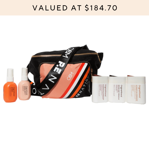 O&M x P.E. Nation Bum Bag Travel Set