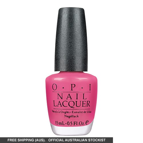 OPI Nail Lacquer - La Paz-itively Hot (Frosted)