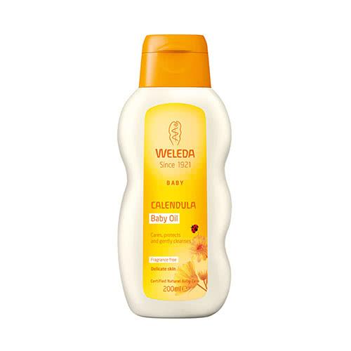 Weleda Calendula Baby Oil - Fragrance Free