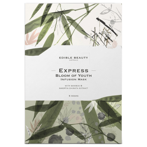 Edible Beauty - Express Bloom of Youth Infusion Mask 5 pce