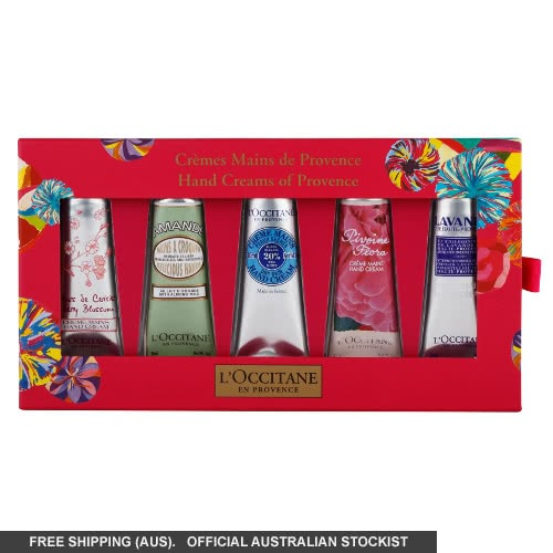 L'Occitane Hand Creams of Provence Deluxe- 2014 by loccitane
