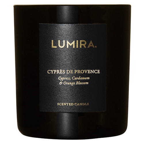 Lumira Glass Candle - Cypres de Provence by Lumira